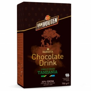 Van Houten Single Origin Tanzanian Hot Chocolate 750g